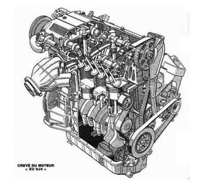 PEUGEOT XUD9 ENGINE SPECS
